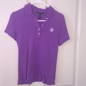 Purple Ralph Lauren polo